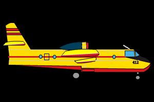 Jeux d'avion canadair HTML5