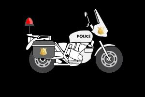 Jeux de moto de police HTML5