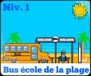 Jeu de bus d'école niv1