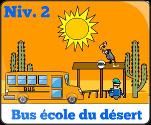 Jeu de bus d'école niv2