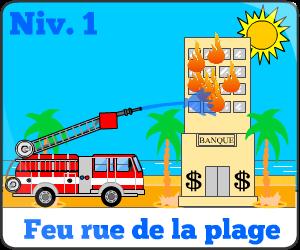 Jeu de camion de pompier niv1