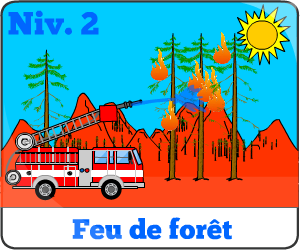 Jeu de camion de pompier niv2